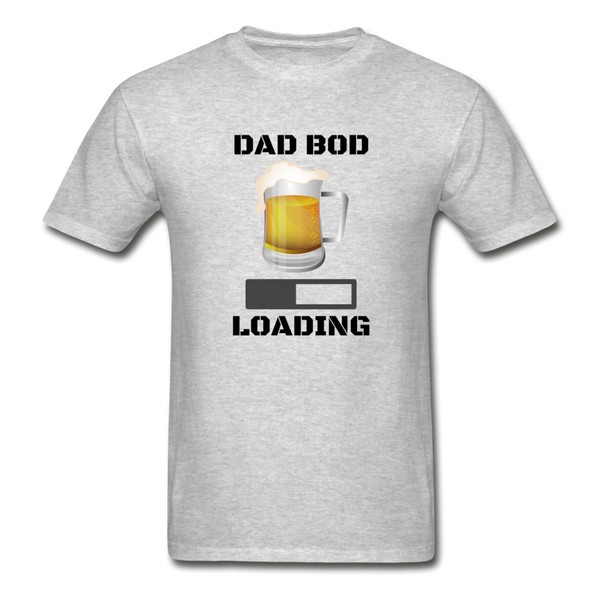 Dad Bod Loading - Men's T-Shirt - heather gray