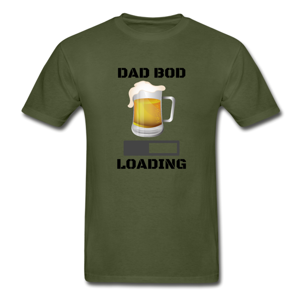 Dad Bod Loading - Men's T-Shirt - military green