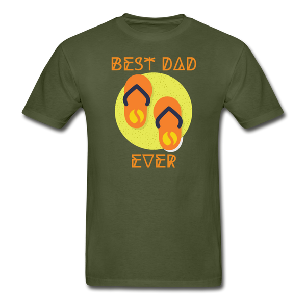 Best Dad Ever - Men's T-Shirt - military green