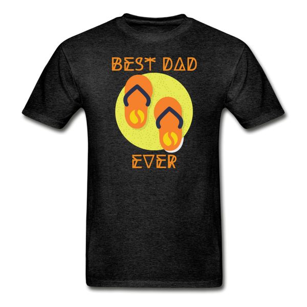 Best Dad Ever - Men's T-Shirt - charcoal gray