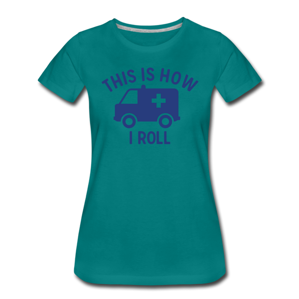 Women's Premium T-Shirt - teal