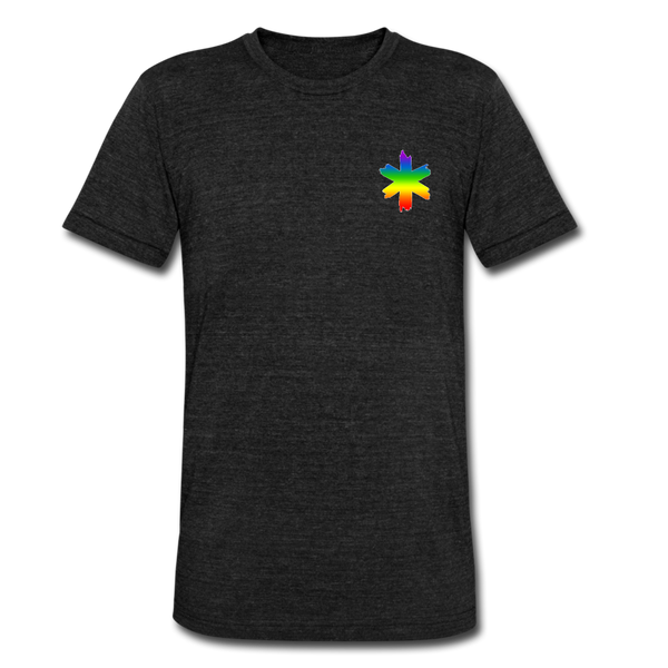 EMS Pride - Tri-Blend T-Shirt - heather black