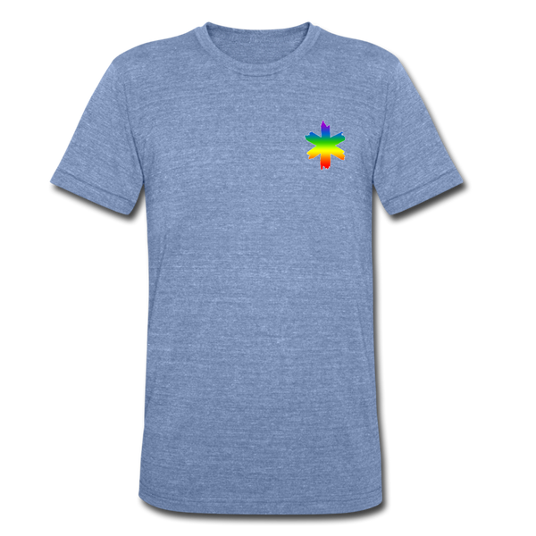 EMS Pride - Tri-Blend T-Shirt - heather Blue