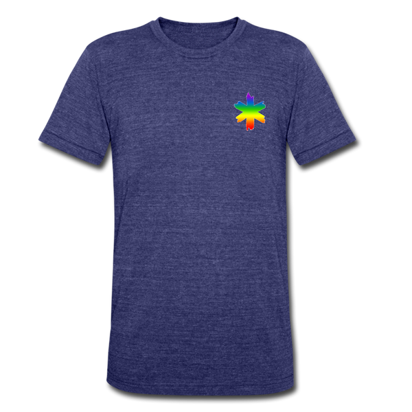 EMS Pride - Tri-Blend T-Shirt - heather indigo