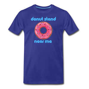 Donut Stand Near Me - Men's Premium T-Shirt - royal blue