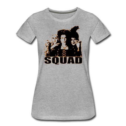 Hocus Pocus Squad - Women's Premium T-Shirt - heather gray