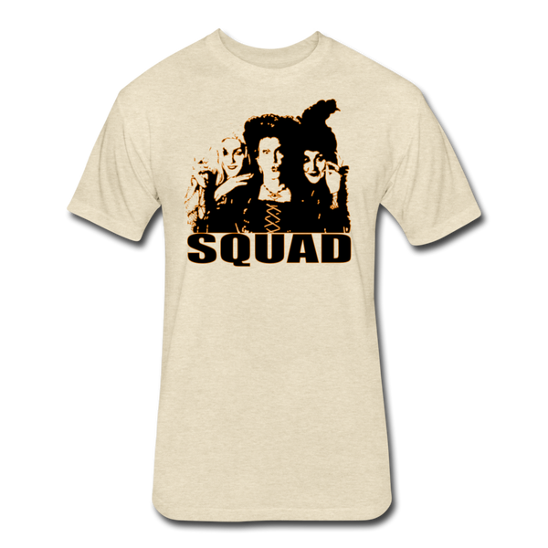 Hocus Pocus Squad - Cotton/Poly T-Shirt by Next Level - heather cream