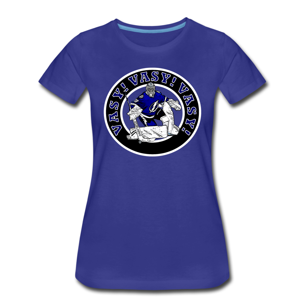 Vasy Vasy Vasy - Women's Premium T-Shirt - royal blue