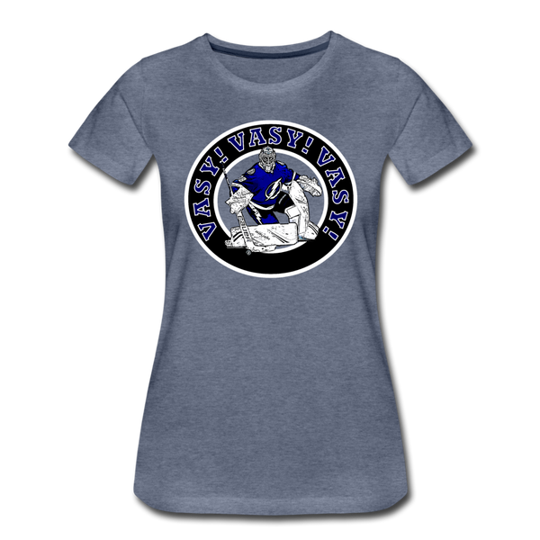 Vasy Vasy Vasy - Women's Premium T-Shirt - heather blue