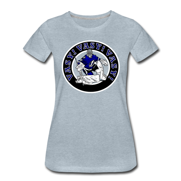 Vasy Vasy Vasy - Women's Premium T-Shirt - heather ice blue