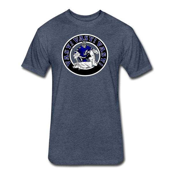 Vasy Vasy Vasy - Cotton/Poly T-Shirt - heather navy