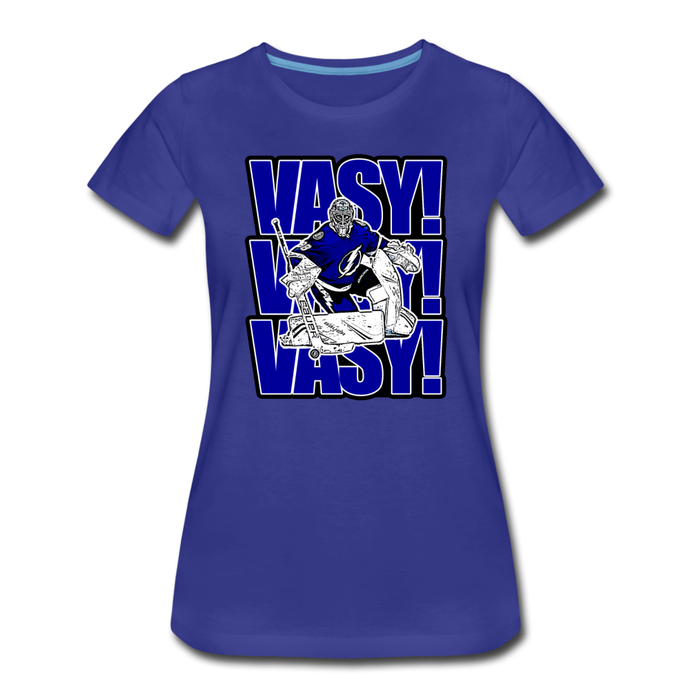 VASY VASY VASY Bold - Women's Premium T-Shirt - royal blue