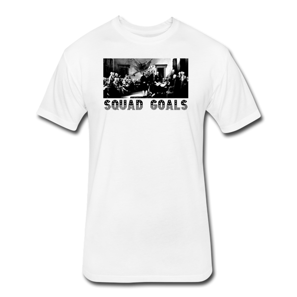 Squad Goals - Independence - Men's Cotton/Poly T-Shirt - white