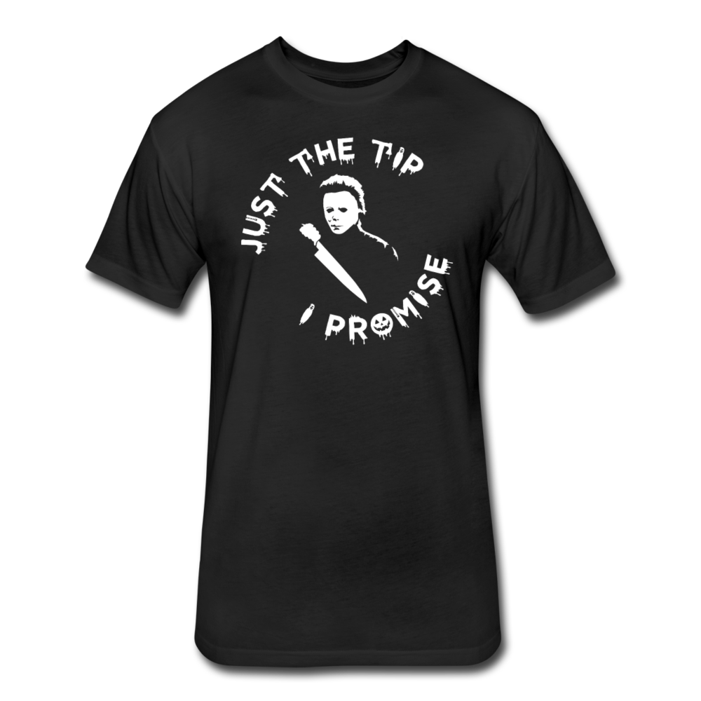 Just The Tip - Cotton/Poly T-Shirt - black