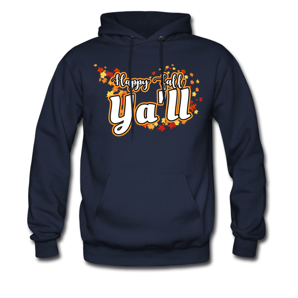 Happy Fall Ya'll - Men's Hoodie - navy