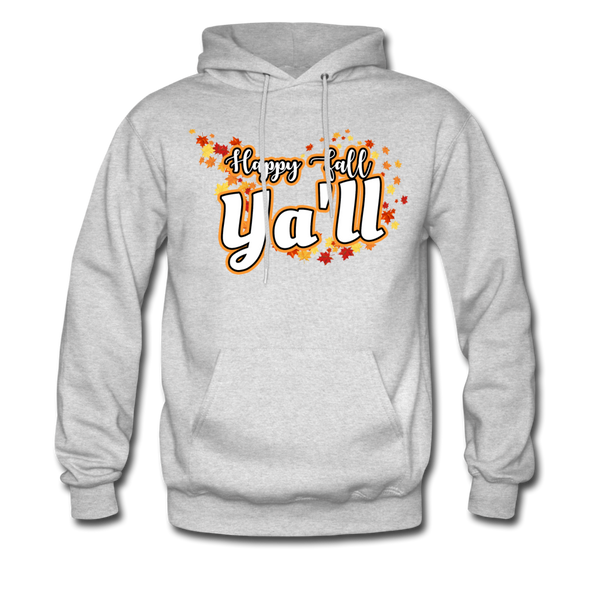 Happy Fall Ya'll - Men's Hoodie - ash