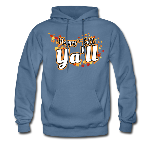 Happy Fall Ya'll - Men's Hoodie - denim blue
