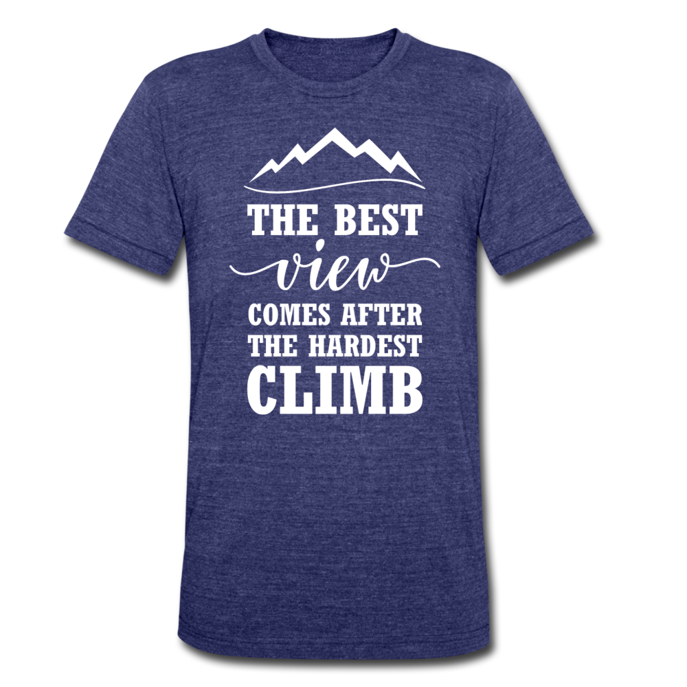 The Best View Comes After The Hardest Climb - heather indigo
