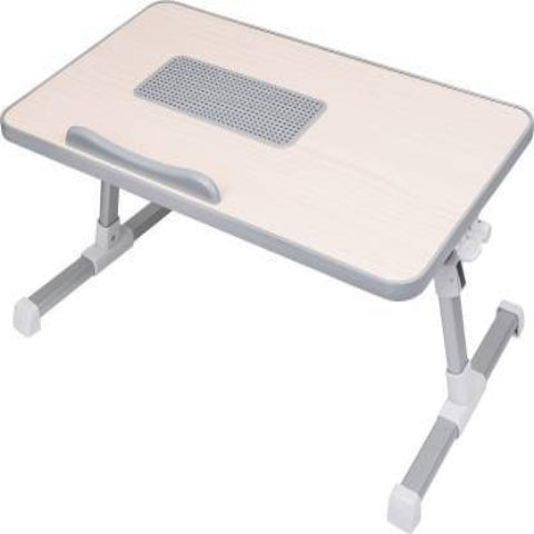 Adjustable Ergonomic Laptop Table Cooling Desk