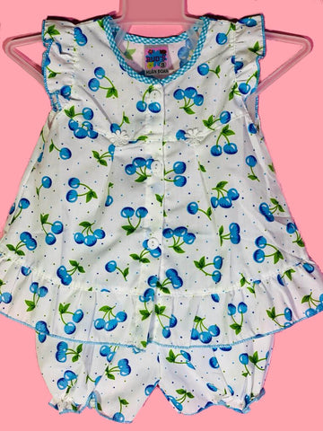 Newborn Baby Girl Frock - Blueberries Online @ Best Price in Pakistan