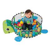 Baby 3 in 1 Activity Gym and Ball Pit Play Mat Kids Rug Turtle Online @ Best Price in Pakistan