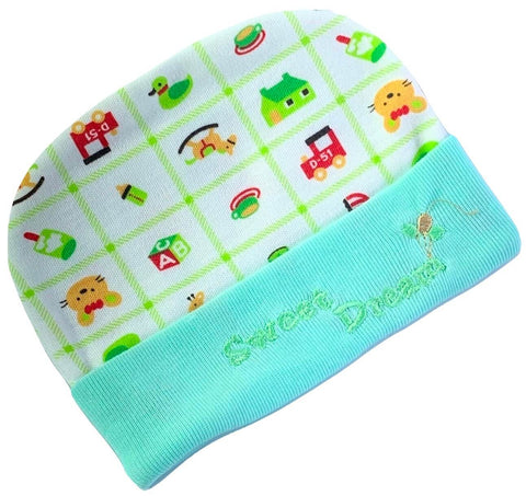 Newborn Baby Cute Green Cap Buy Online @ Best Price in Pakistan