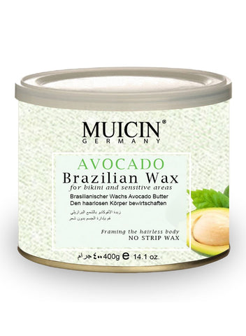 MUICIN Avocado Hair Removal Brazilian Wax Jar 400 gm Online @ Best Price in Pakistan