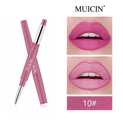 Muicin - 2 in 1 Matte Lipstick And Lipliner Online @ Best Price in Pakistan
