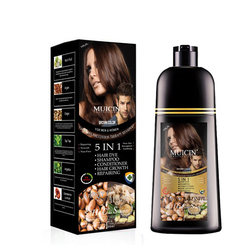 MUICIN - Brown Hair Color Shampoo With Ginger & Argan Oil Buy Online @ Best Price in Pakistan