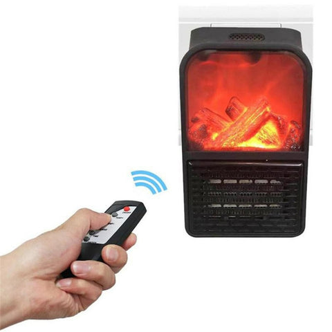 Portable Fireplace Flame Heater With Remote Control Electric Radiator Online @ Best Price in Pakistan