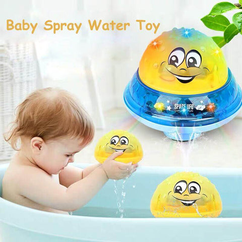 2 In 1 Induction Spray Water Toy With LED Light Musical Fountain Online @ Best Price in Pakistan