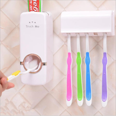 Toothpaste Dispenser With Toothbrush Holder @ Best Price Online in Pakistan