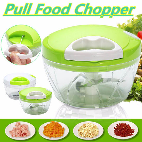 Vegetable Meat Chopper Easy Spin Cutter Buy Online @ Best Price in Pakistan
