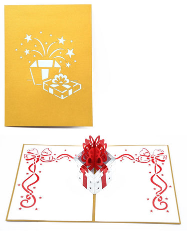 Handmade Charming Box 3D Pop Up Card Online @ Best Price in Pakistan