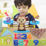 Monkey Balance Toy Educational Math Game Online @ Best Price in Pakistan