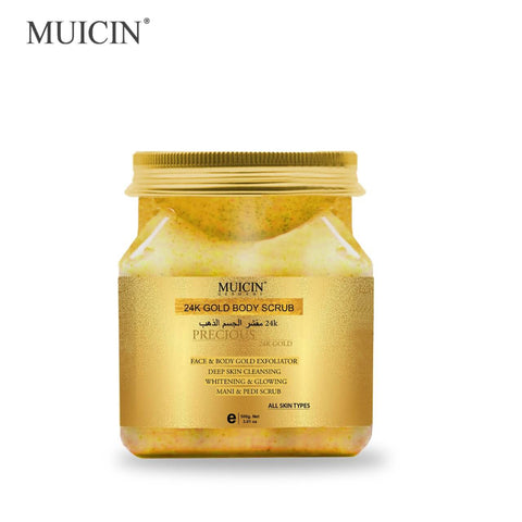 MUICIN - 24k Gold Exfoliating Face & Body Scrub - 500g Online @ Best Price in Pakistan