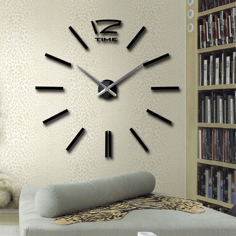 DIY 12 Wall Clock Wall Mounted Sticky DIY Clock Online @ Best Price in Pakistan
