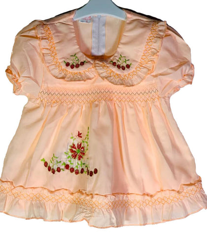 Newborn Baby Girl Frock - Flower Cherries Online @ Best Price in Pakistan