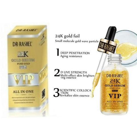 Dr Rashel Gold Serum Pure Gold VIP All in One Online @ Best Price in Pakistan