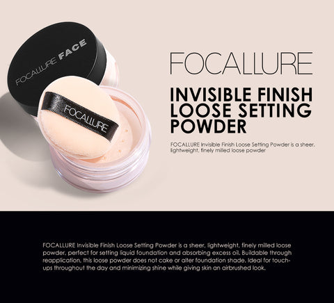 Face Powder Finish Loose Setting Powder - FOCALLURE Buy Online @ Best Price in Pakistan