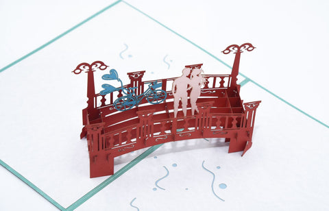 Love Bridge Handmade 3D Pop Up Card Online @ Best Price in Pakistan