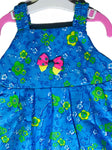 Newborn Baby Girl Frock - Blue Online @ Best Price in Pakistan