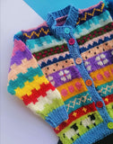 Hand Knitted Sweater & Cap Multi Spring In Winters Online @ Best Price in Pakistan