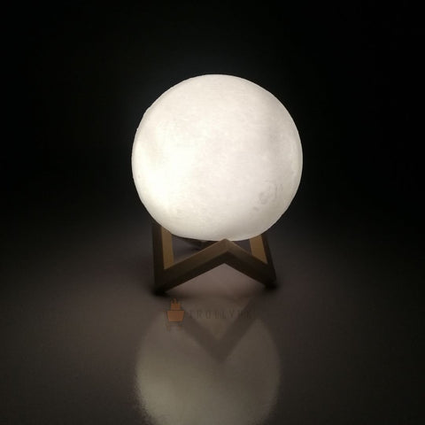 3D Moon Lamp LED Night Light One Color Online @ Best Price in Pakistan