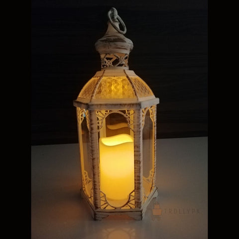 Flameless LED Candle Vintage Lantern Decorative Online @ Best Price in Pakistan