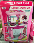 Little Chef 3 in 1 Luggage Kitchen Set For Baby Girl Kitchen Toys Online @ Best Price in Pakistan