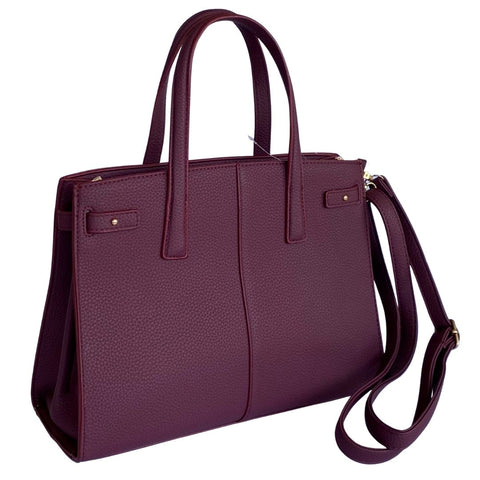 Wine Red Elegant Ladies Handbag With Clutch Online @ Best Price in Pakistan