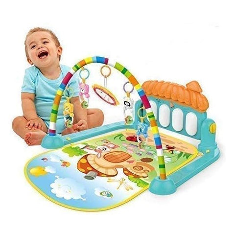 3 in 1 Newborn Baby Play Gym Piano Fitness Rack Mat Online @ Best Price in Pakistan
