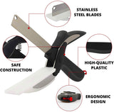 Clever Cutter 2 in 1 Kitchen Knife & Cutting Board Online @ Best Price in Pakistan