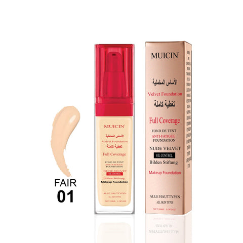 MUICIN - Nude Velvet Full Coverage Bridal Base Foundation Online @ Best Price in Pakistan